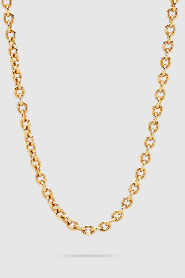 Ada Chain Slim Gold Long 24,5 inch