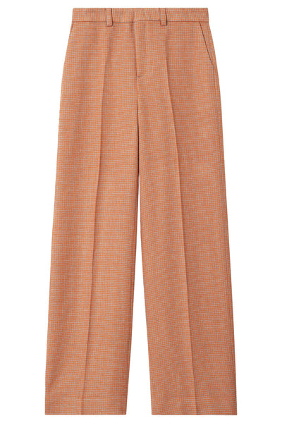 Meche Weave Pants Sharp Orange