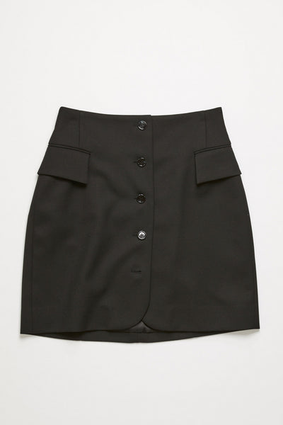 Ivet Light Summer Skirt Black