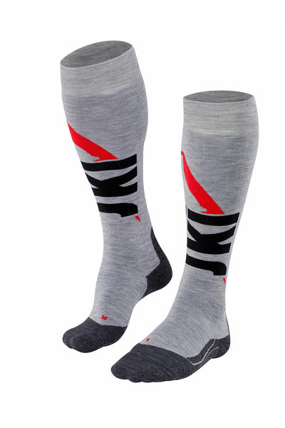 Women's Grey Knee High Socks 125 Years