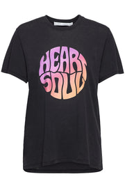 Heartso Tee-Shirt Used Black