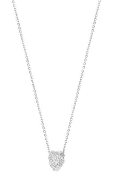 Grus Grit Erosion Necklace Silver