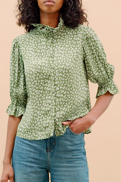 Autumn Blouse Apple
