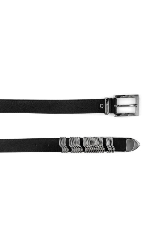 Rattle Belt Black Gunmetal