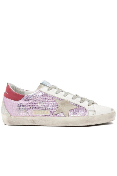 Superstar Sneakers Lavender Laminated Cocco-Ice Star