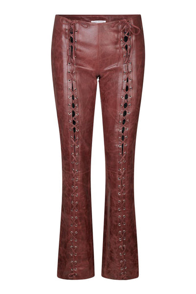 Christina Pants Wine Red