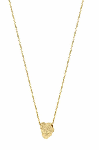 Grus Grit Erosion Necklace Gold