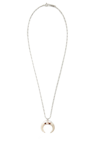 Collier Necklace Zanzibar Ecru/Pink