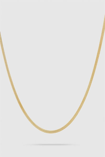 Herringbone Chain Gold 17 inches
