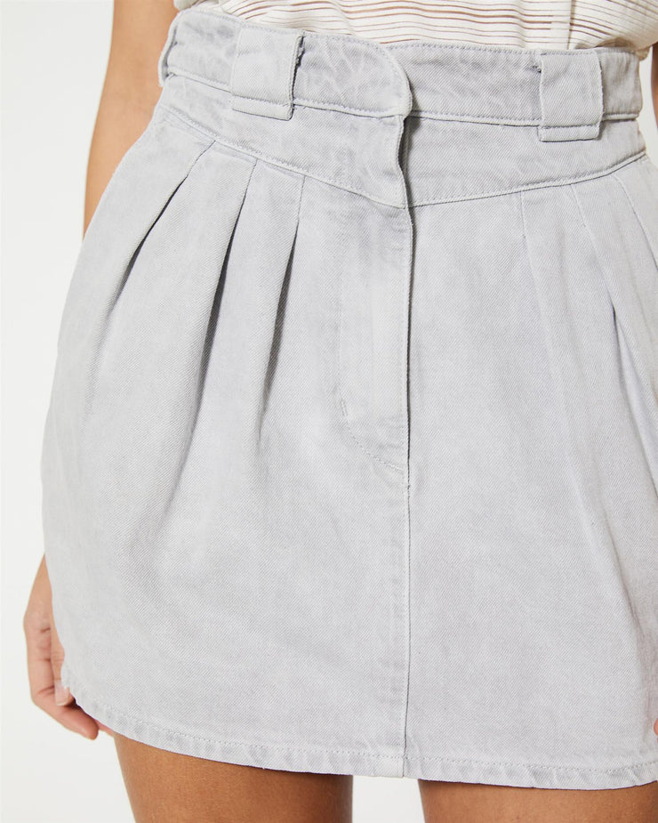 Senti Skirt Grey/White