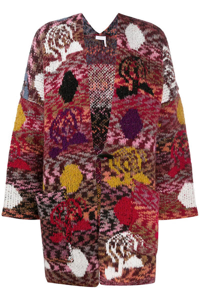 Cardigan Coat Multicolor