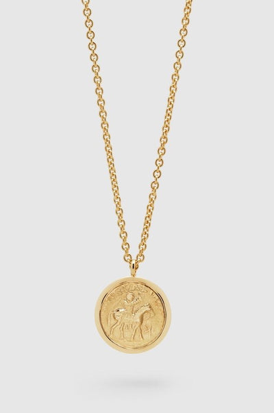 Coin pendant Long Gold