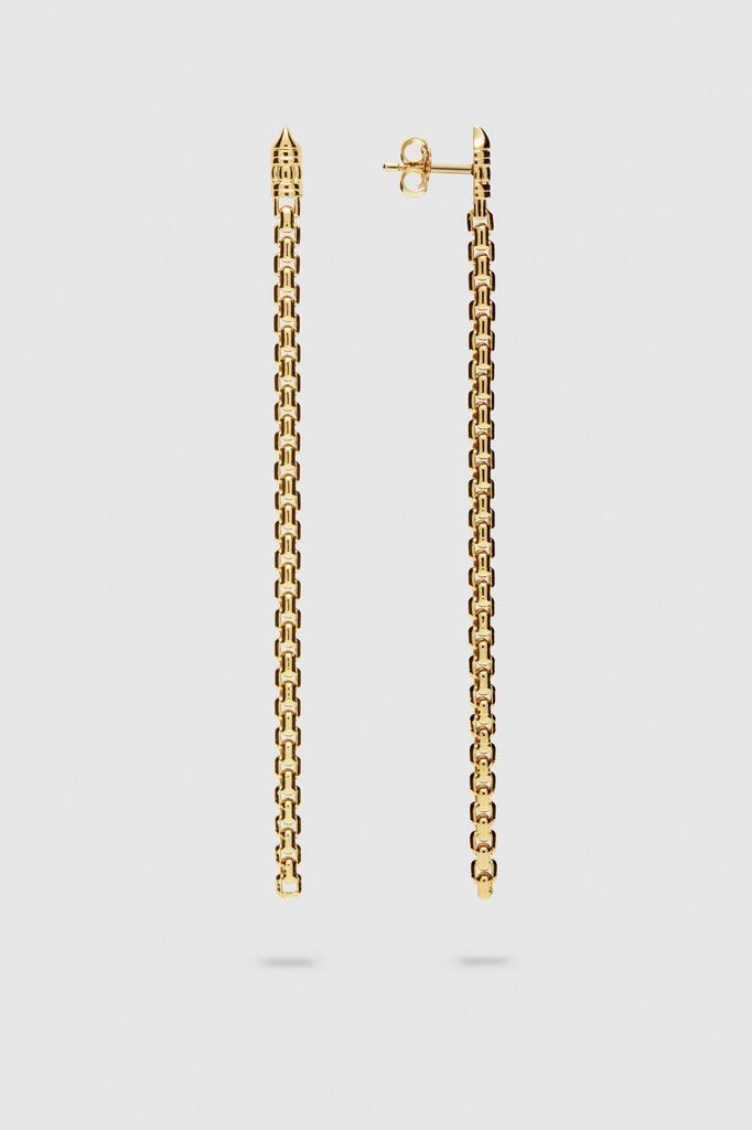 Venetian Ear Chain Single Gold