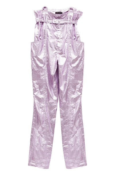 Gilekla Pants Metallic Lilac