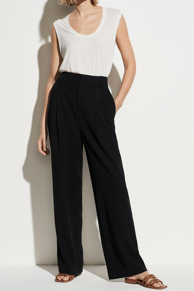 Wide Leg Trouser Black
