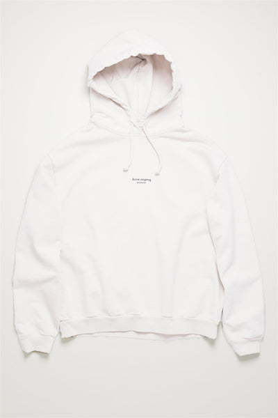 Feirdra Stamp Hoodie Optic White