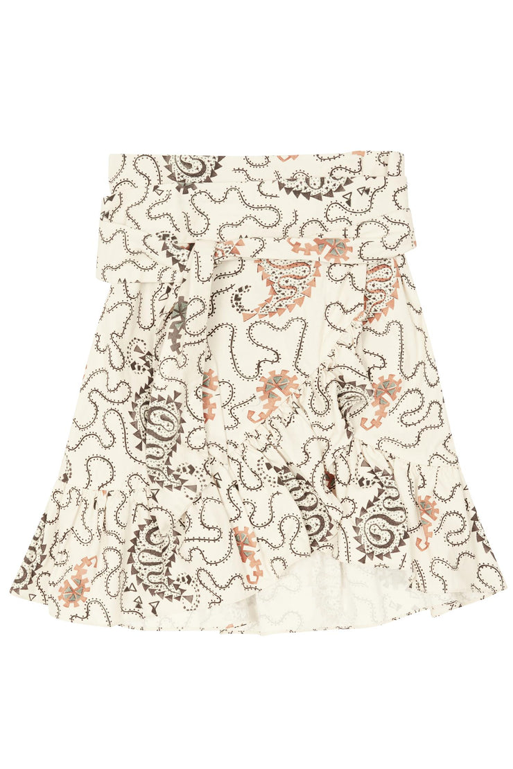 Liliko Printed Cotton Skirt