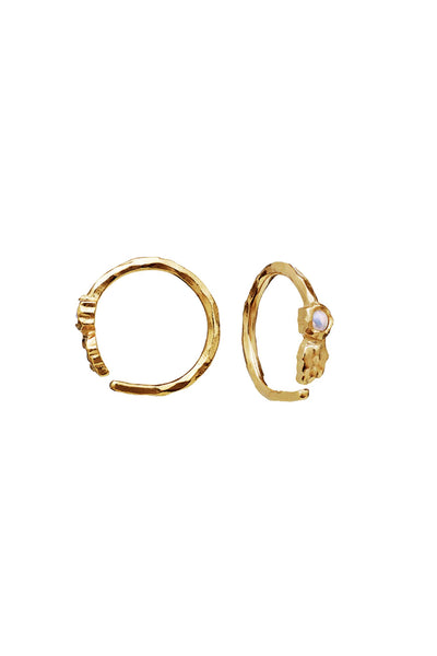 Florus Earrings Gold