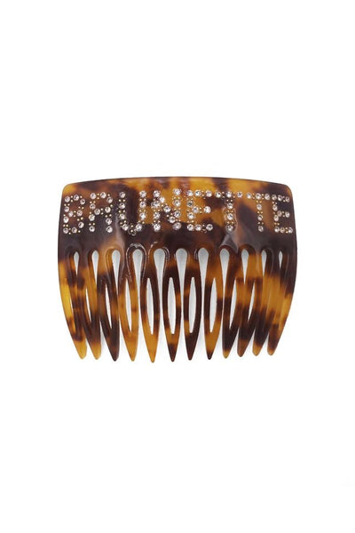 Brunette Hair comb