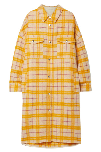 Fontia Coat Yellow