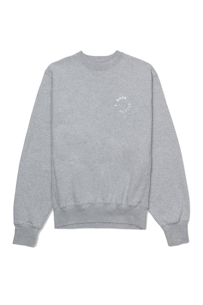 Monday Crew Neck Heather Grey