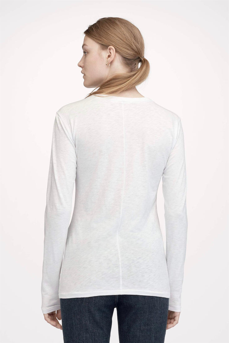 The Longsleeve Bright White