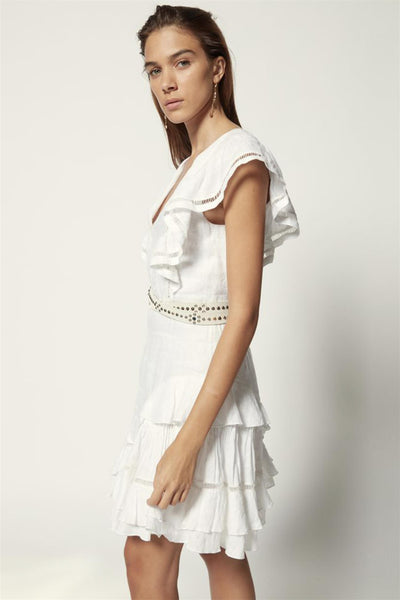 Audrey Dress White