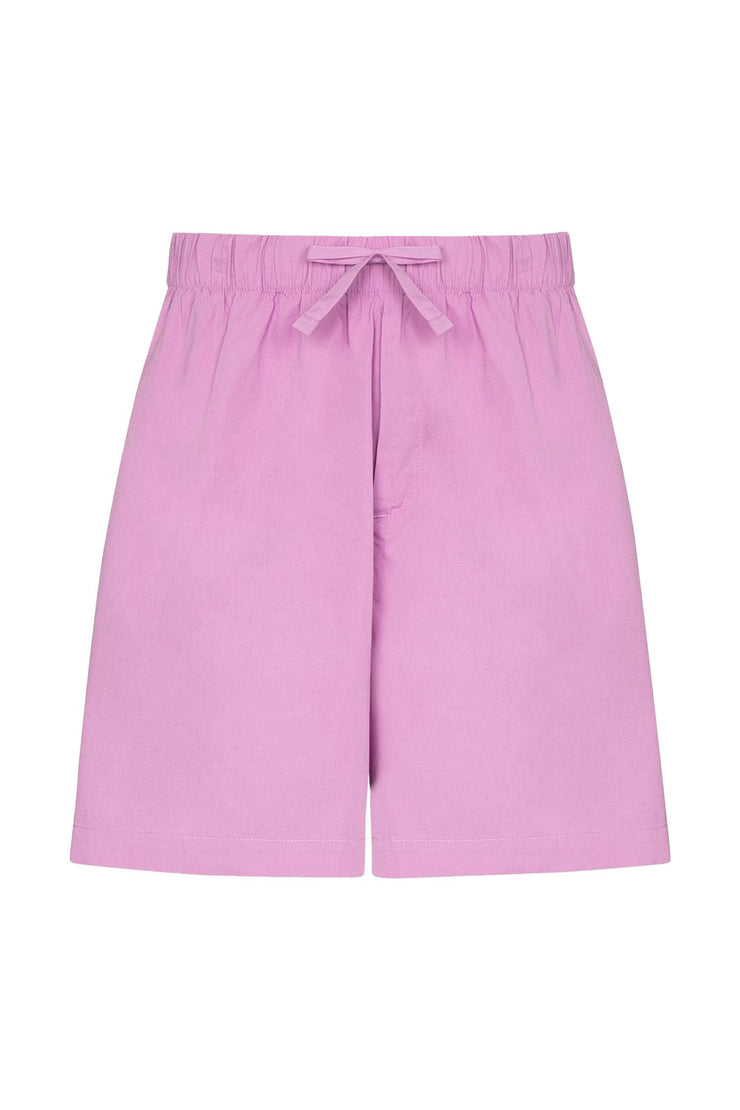 Poplin - Pyjamas Shorts Purple Pink