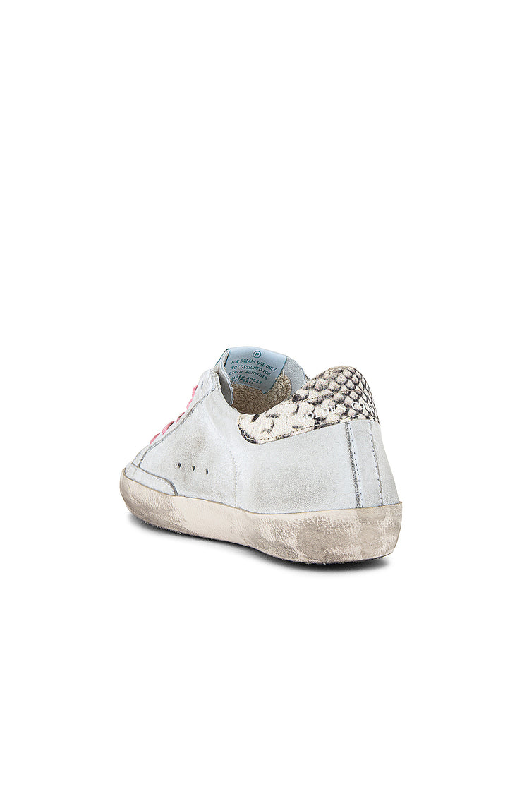 Superstar Sneakers White Nabuk 3D-Star (V38)