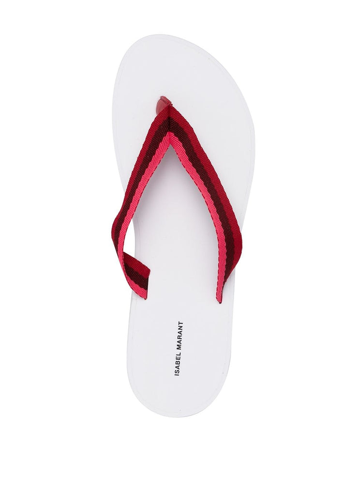 Tae Playa Sandals Red