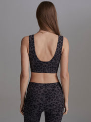 Delta Bra Iron Grey Cheetah