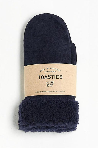 Mittens Navy Blue