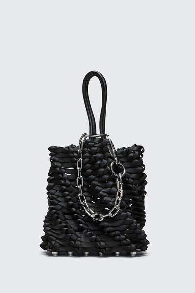 Weaved Small Roxy Bucket Tote