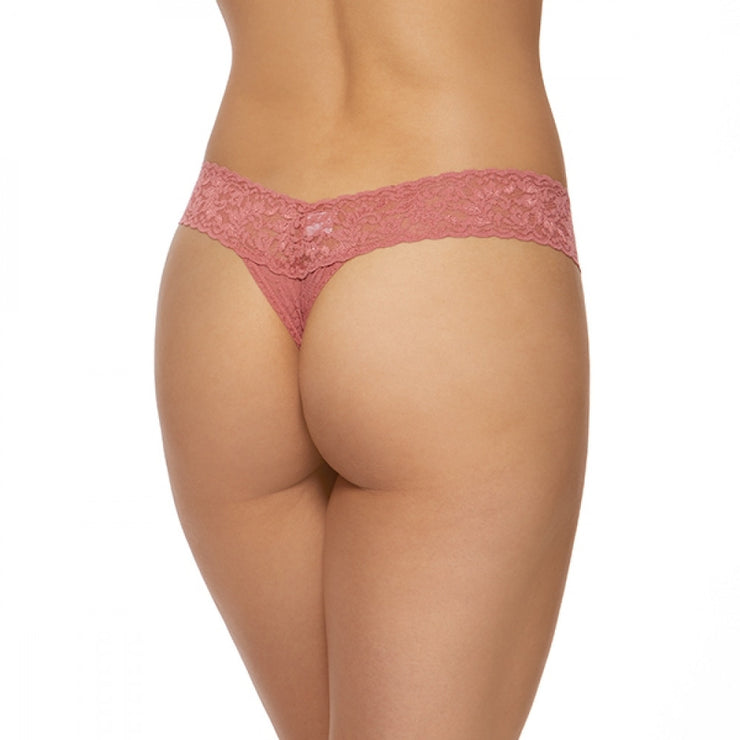 Low Rise Thong Pink Sands
