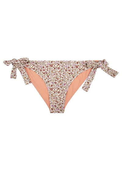 Zoey Brief Bikini Paisley Floral Knit
