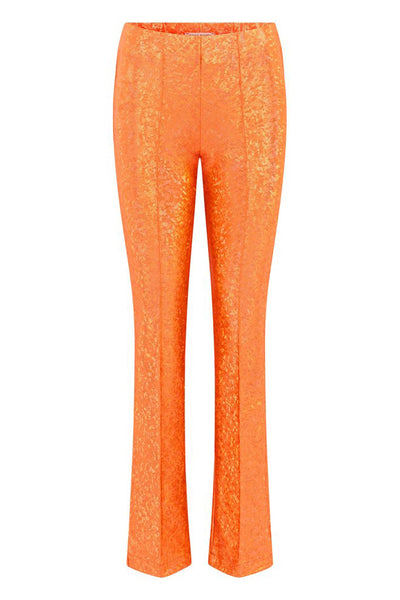 Lissi Pants Fluo Orange Shimmer