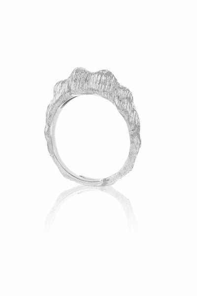 Seashell Creation Ring Silver