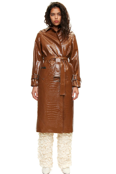 Caliente Coat Brown