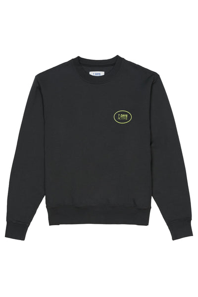 Monday Crew Neck Pirate Black