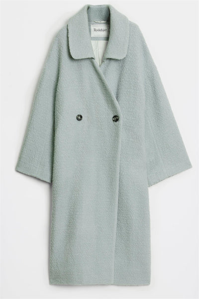 Placia Coat Dew Green