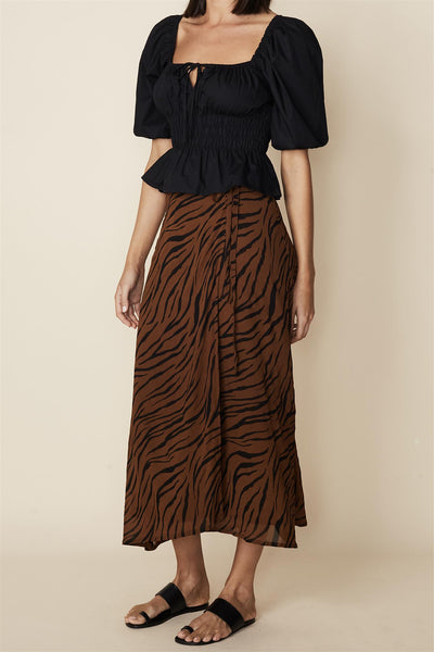 Janine Skirt Kenya Animal Print
