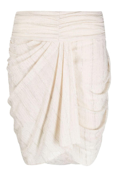 Nistal Skirt White/Gold
