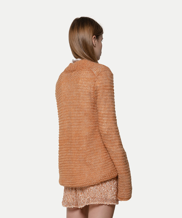 Mohair V-Neck Sweater Ambra
