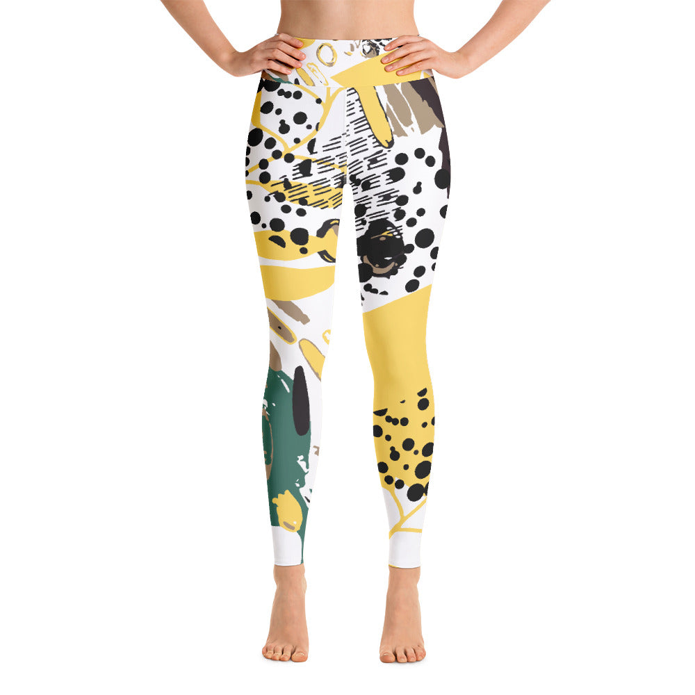 Jungle Fever Yoga Leggings