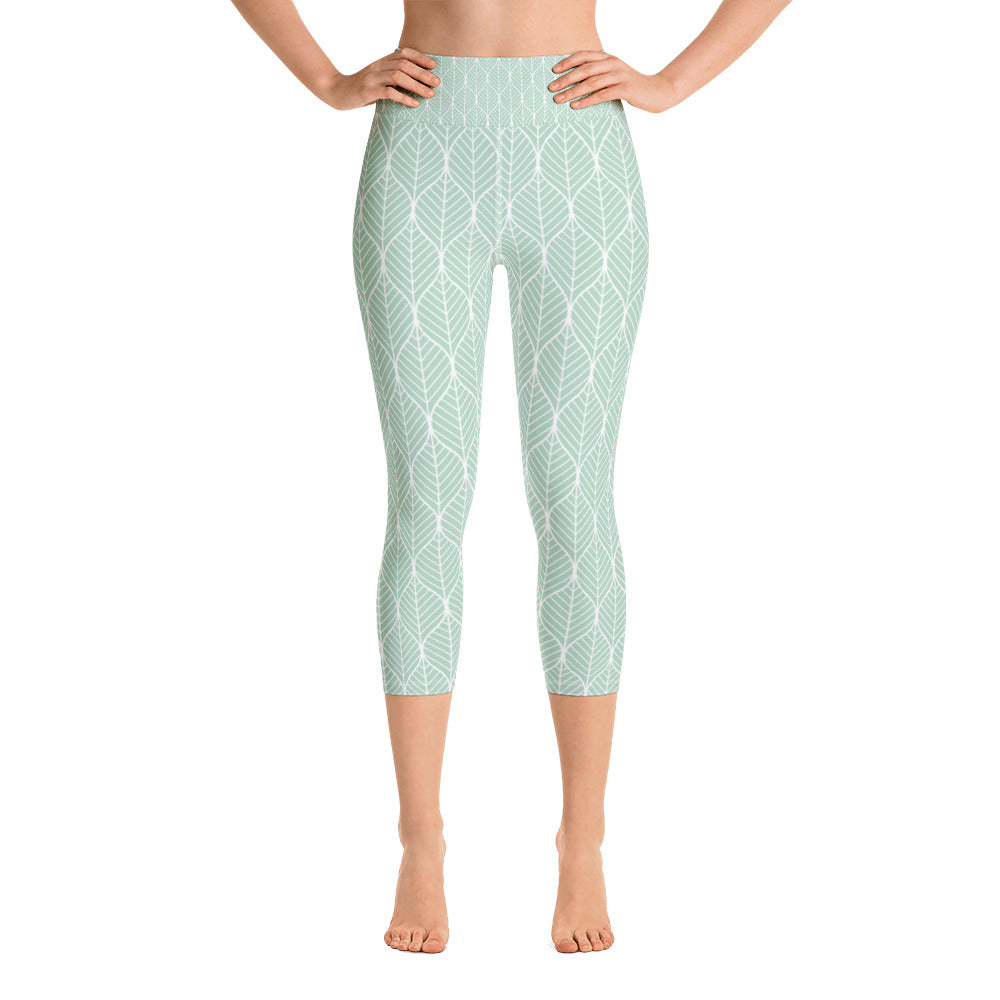 Mint Leaf Yoga Capri