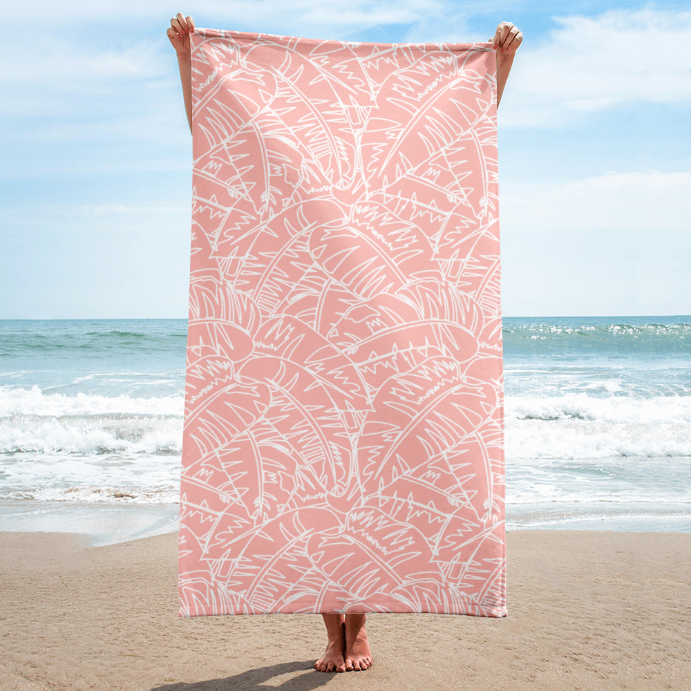 Blush Palm Towel