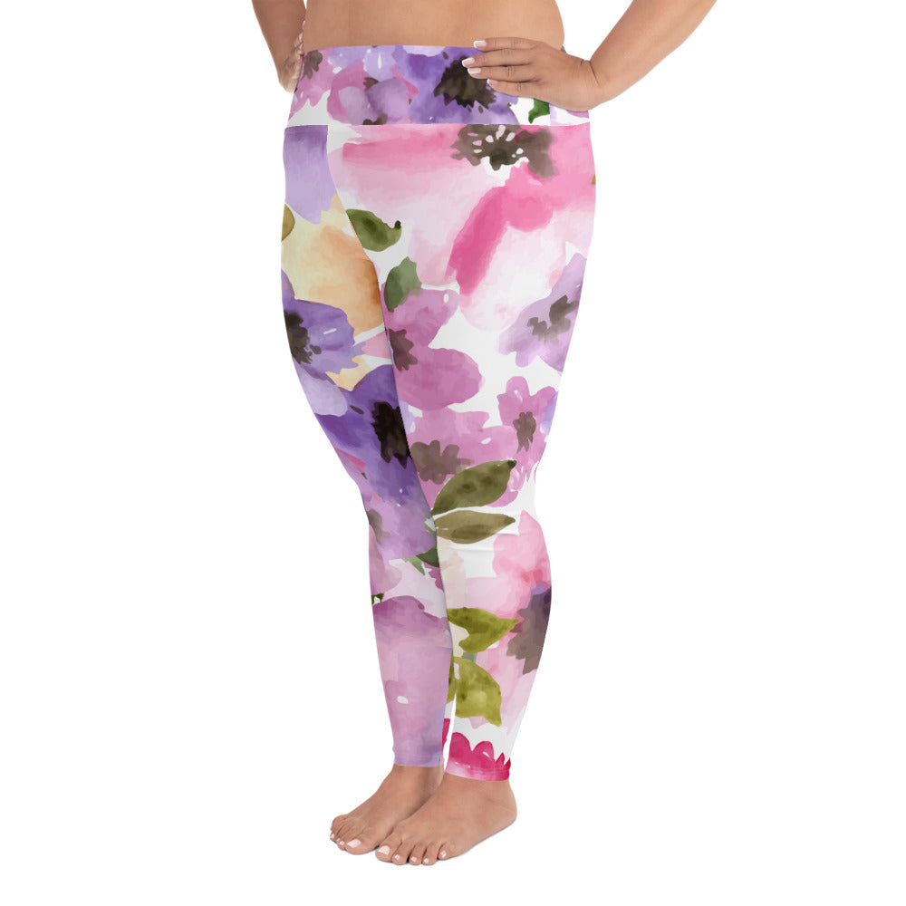 Summer Meadow Curves Yoga Leggings