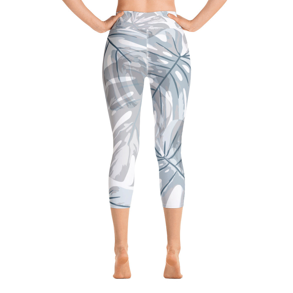 Botanical Leaf Yoga Capri