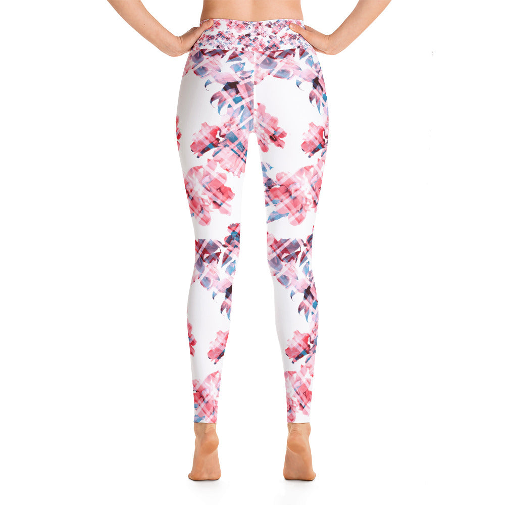 Floral Haze Yoga Leggings