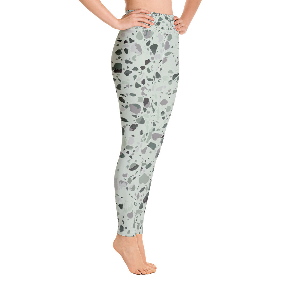 Sage Granite Yoga Leggings